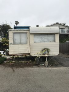 Mobile home removal